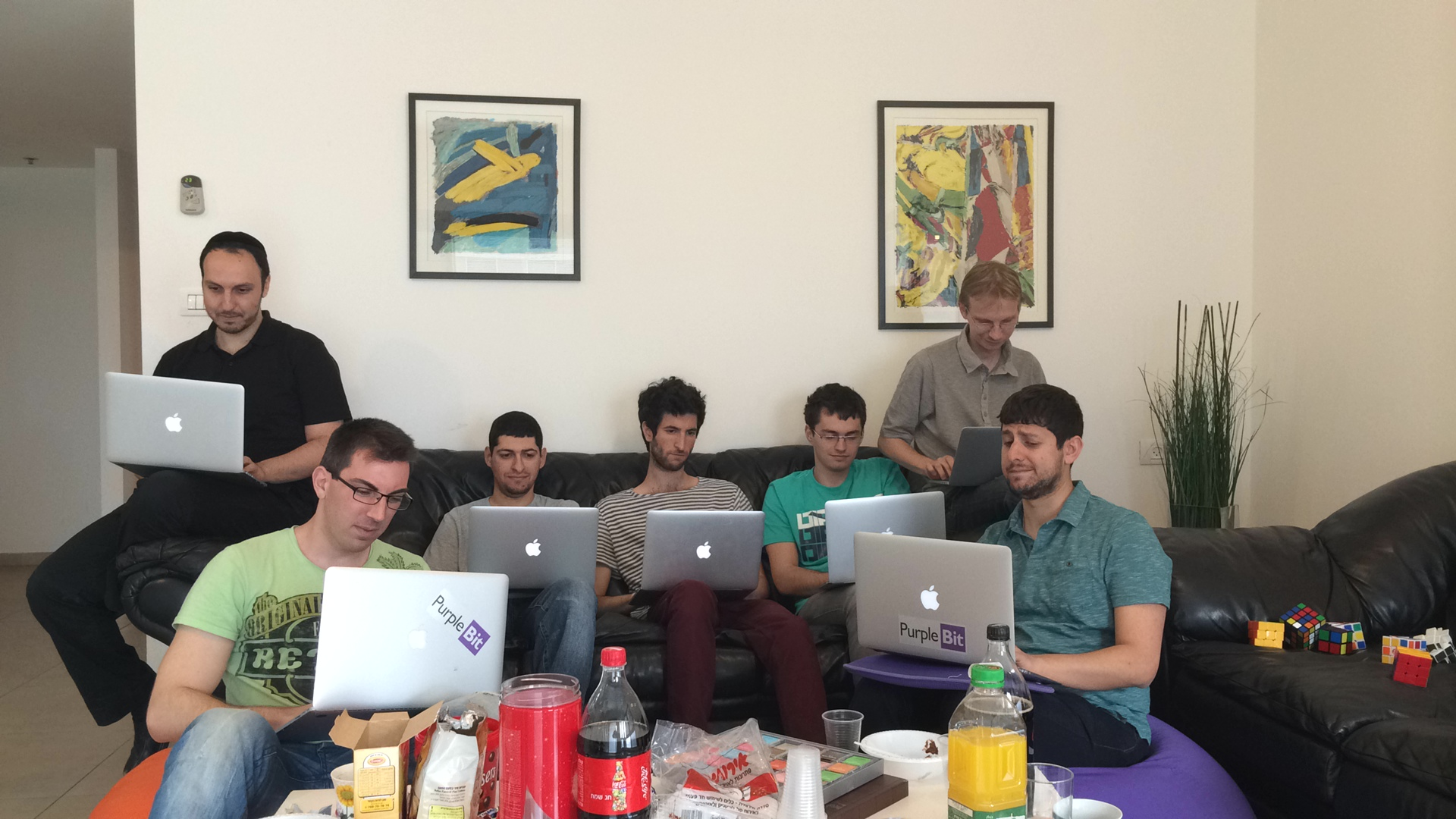 Purple Bit Team - Macs